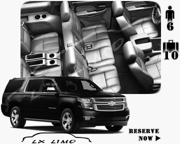 SUV Suburban for hire in Miami