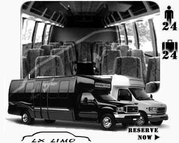 Bus for airport transfers in Miami, FL