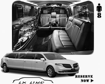 Stretch Wedding Limo for hire in Miami, ON, Canada
