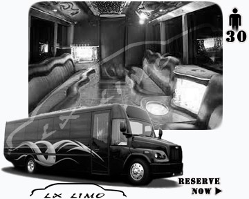 Party Limo Bus rental in Miami | Miami LIMOBUS